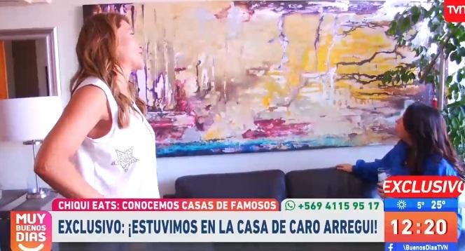 Carolina Arregui mostró su espectacular casa en