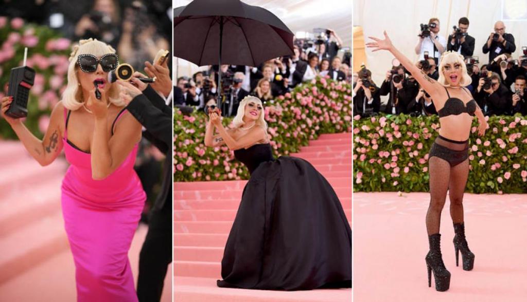 Este Fue El Vestido Desmontable Con Que Lady Gaga Deslumbró