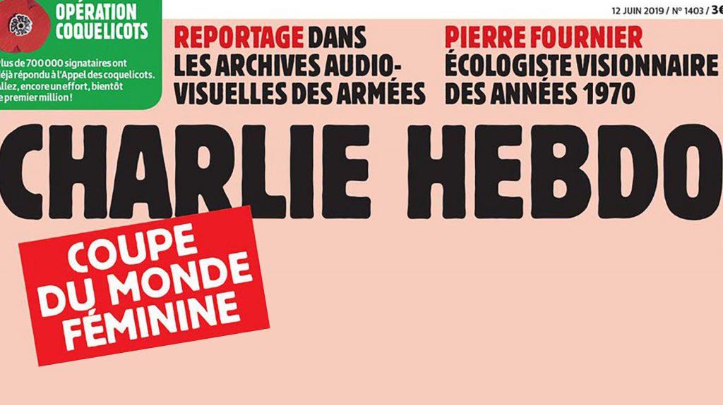 La polémica portada que Charlie Hebdo dedica al Mundial de futbol