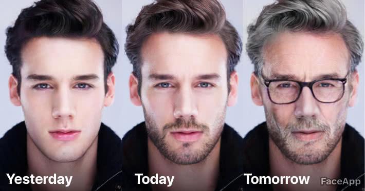 FaceApp: ¿Quieres conocer como te verás de viejo? (4 FOTOS)