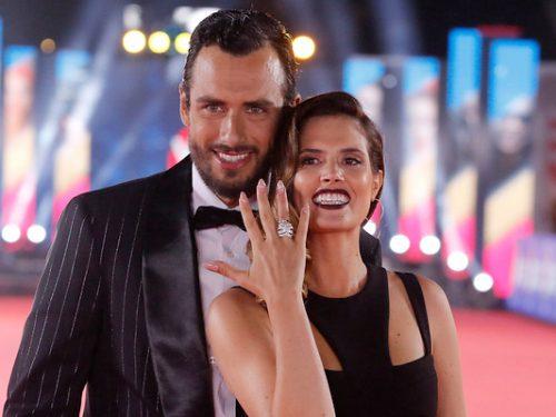 Marcelo Marocchino pidiendo matrimonio a Magui Benet