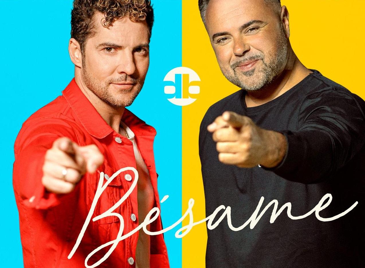 David Bisbal y su nueva canción 'Bésame' junto a Juan Magán