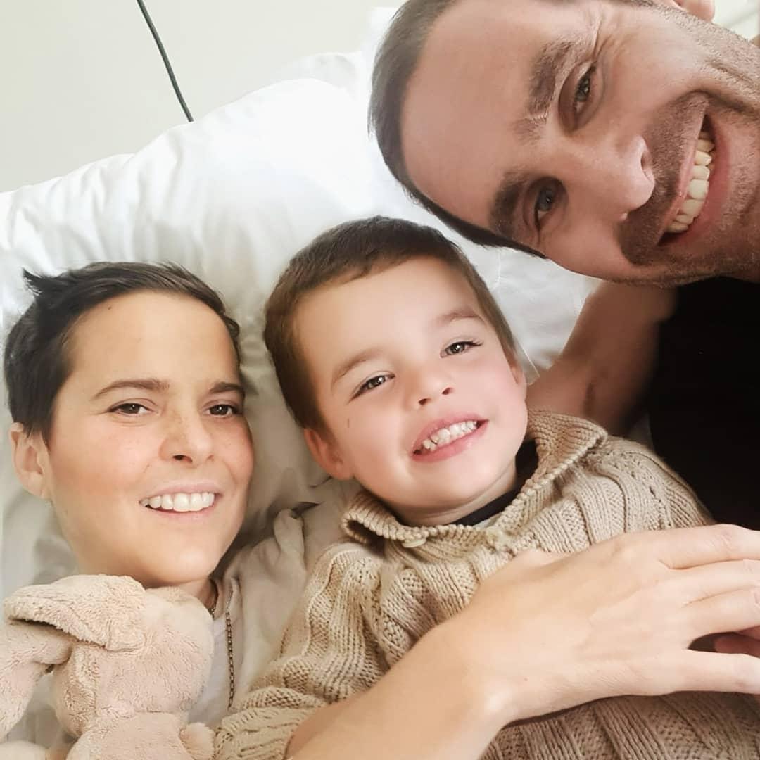 El tierno mensaje del esposo de Javiera Suárez a su hijo