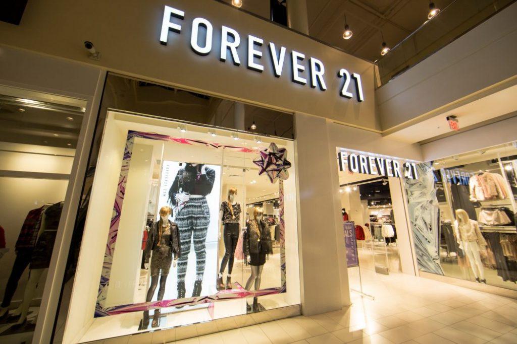 Forever 21 podría estar a punto de declararse en quiebra