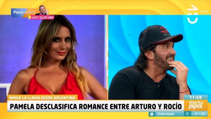 Arturo Longton y Rocío Marengo