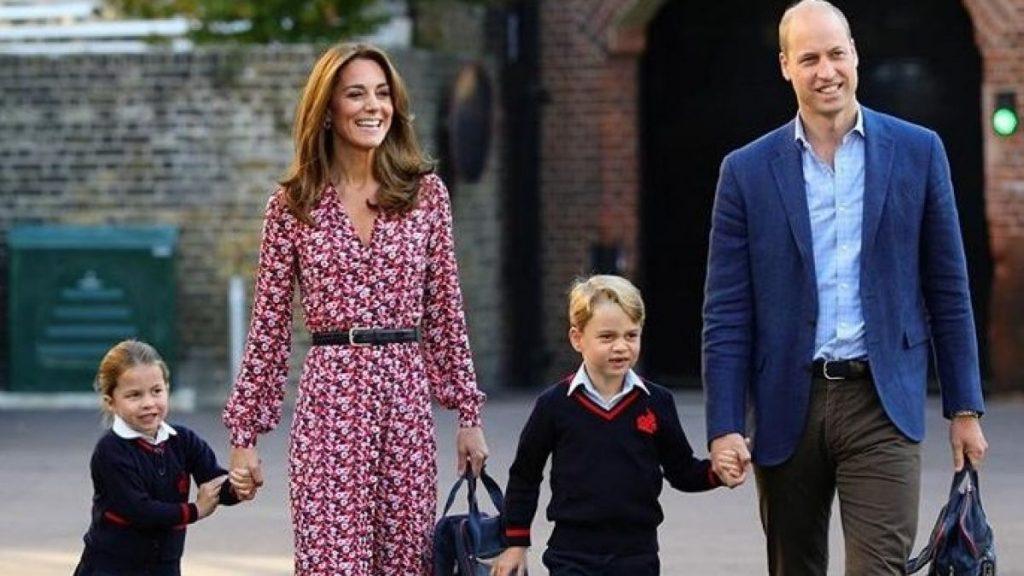 ¿Cómo llamarán a la princesa Charlotte en el cole?