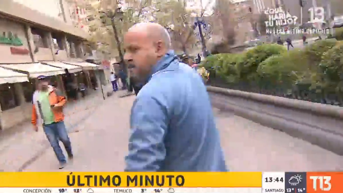Pancho Saavedra apoyó a Miguel Acuña: Funó a mujer que lo agredió