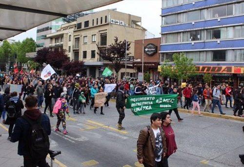 Manifestación en Concepción
