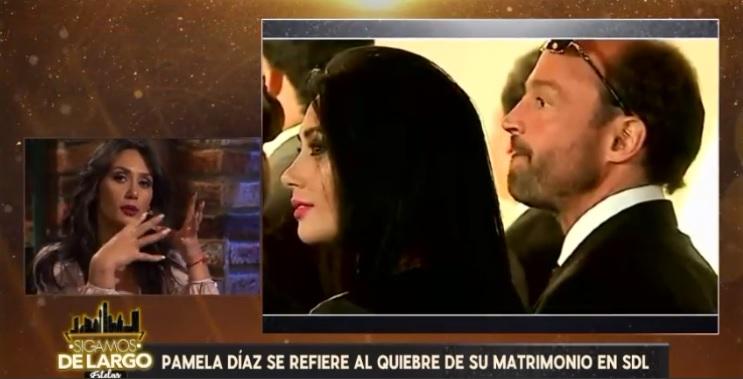 Pamela Díaz reveló inéditos detalles de su matrimonio con Manuel Neira