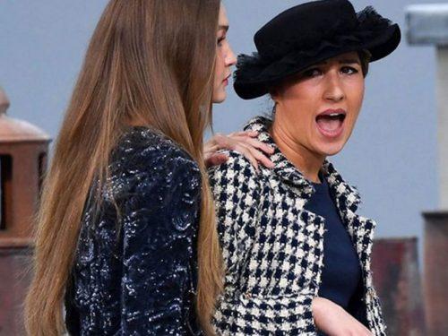 Gigi Hadid Chanel