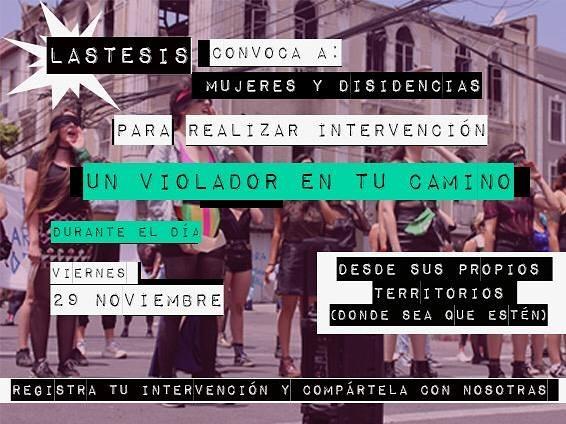 Marcha de 'Un violador en tu camino' llega al Zócalo