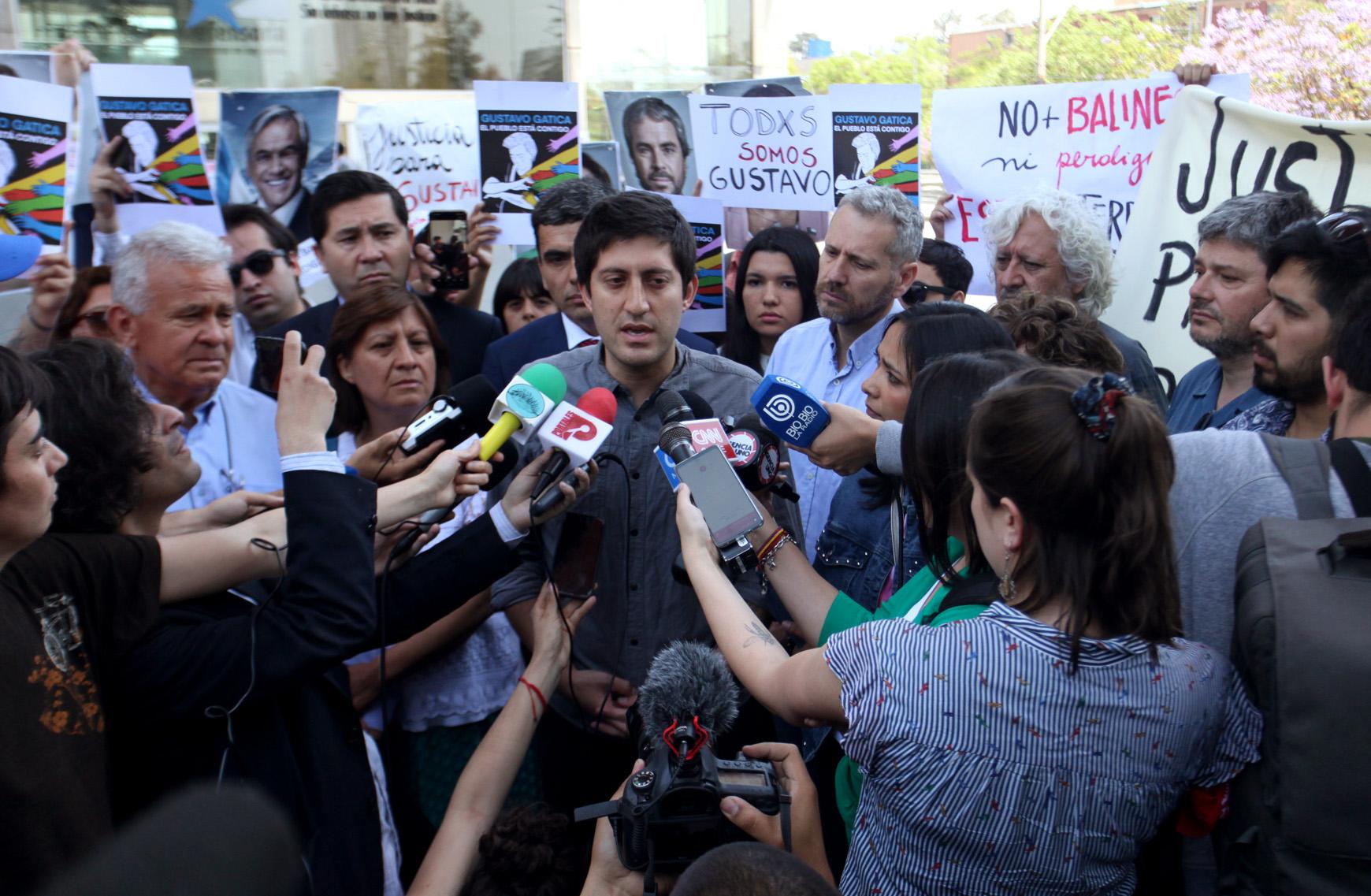 Hermano de Gustavo Gatica, Enrique, compartió mensaje de su hermano a la ciudadanía