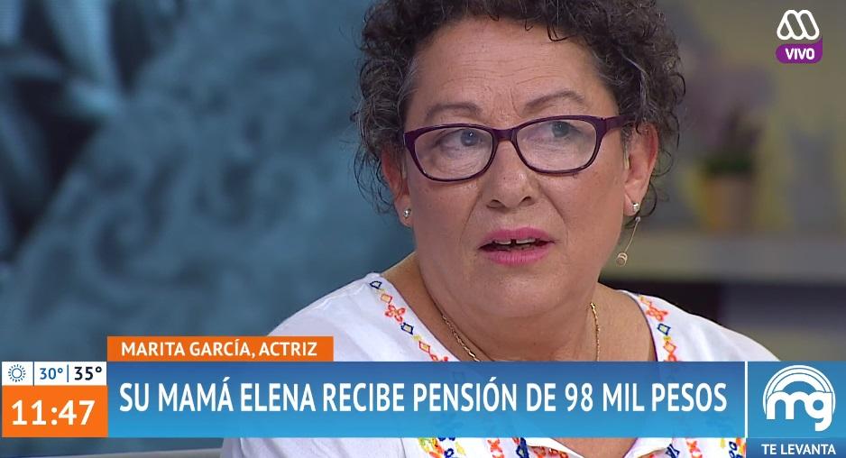 mamá de Marita habla de cómo vive con su baja pensión y con cáncer