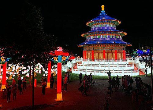 panoramas festival luces chinas