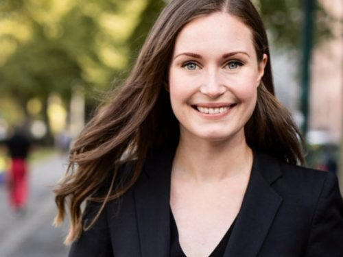 Sanna Marin es la primera ministra más joven