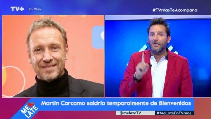 Martín Cárcamo deja temporalmente