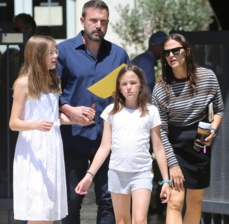 Ben Affleck and Jennifer Garner out and about, Los Angeles, USA - 30 Jun 2019