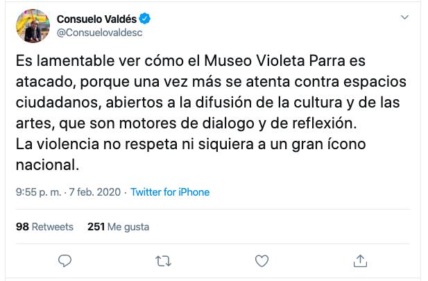ministra cultura