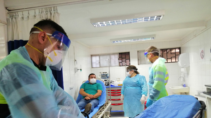 denuncia que pacientes en los ángeles mintieron sobre síntomas de coronavirus