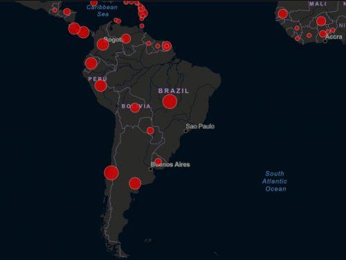 chile es el país con mayor nivel de contagio en sudamerica