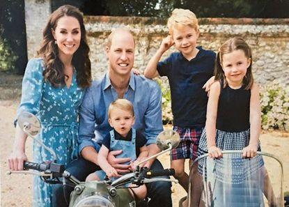kate y william con sus hijos