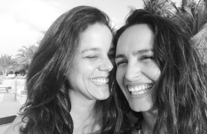 Fernanda Urrejola y Francisca alegria
