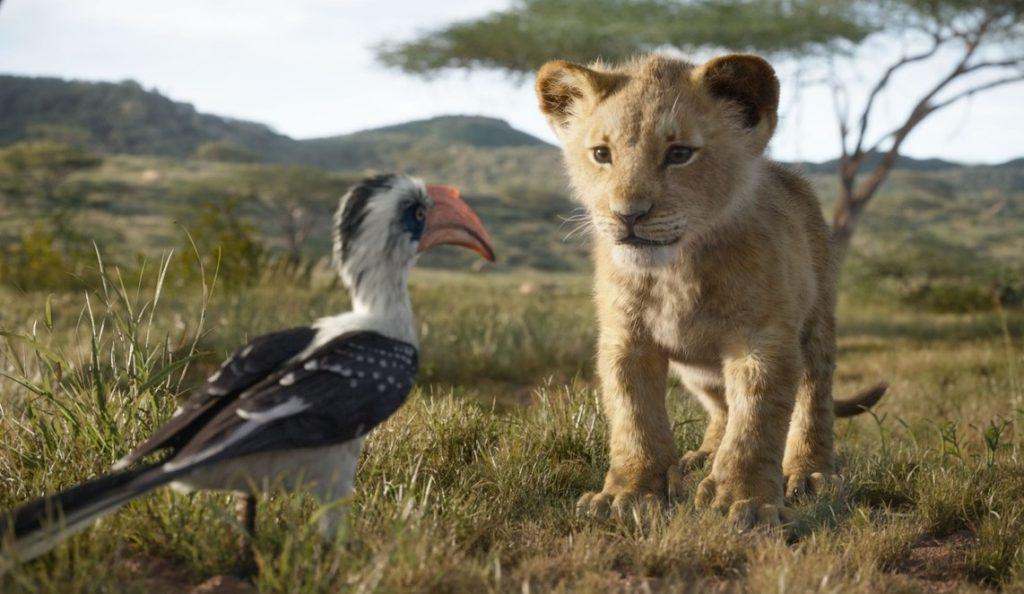 El rey león live action