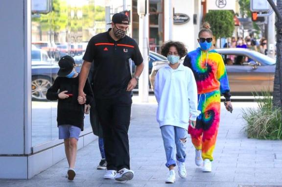 Hija Jennifer Lopez y Marc Anthony Emme