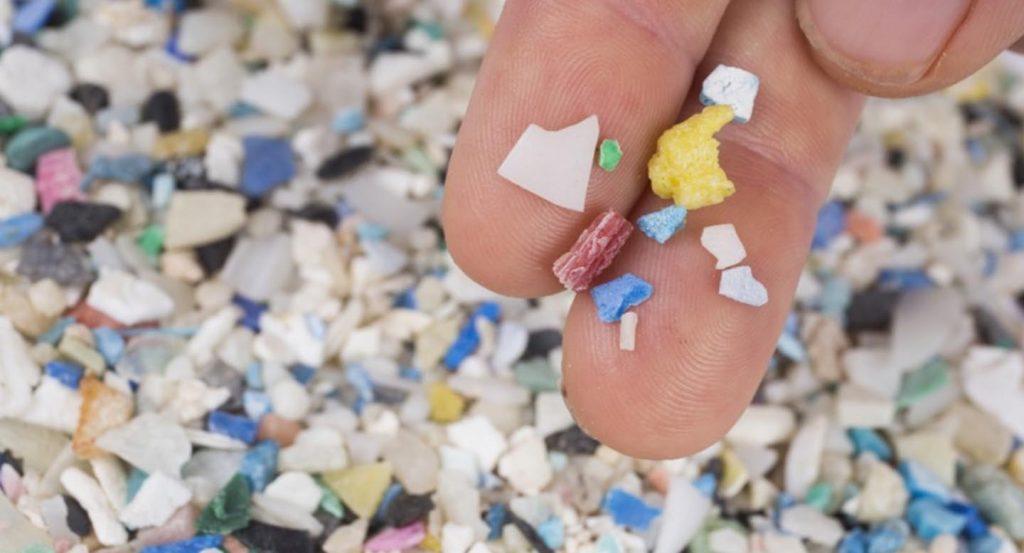 Microplásticos océano