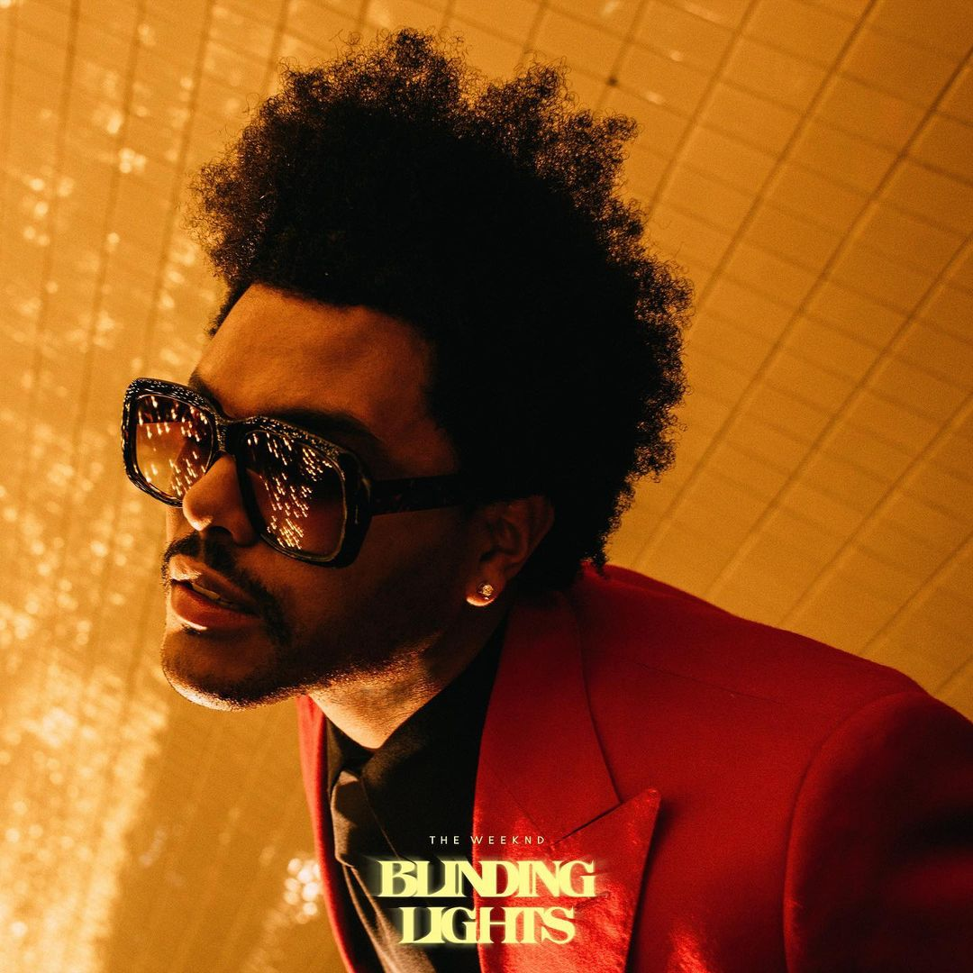 "the weeknd ""Blinding Lights"""