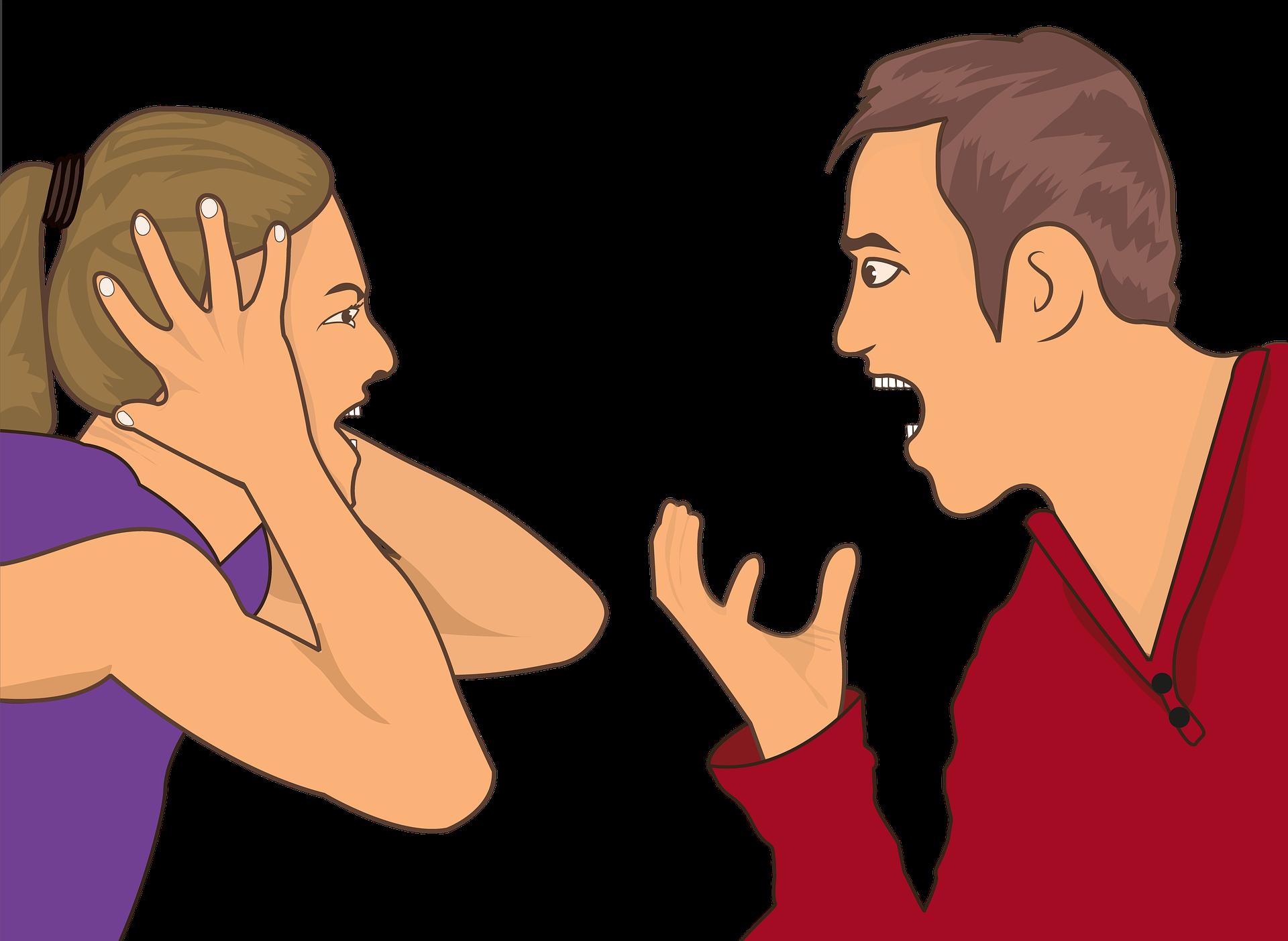 pelea discuten las parejas