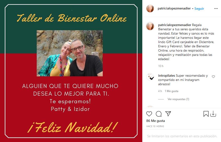 taller de bienestar online con Paty López