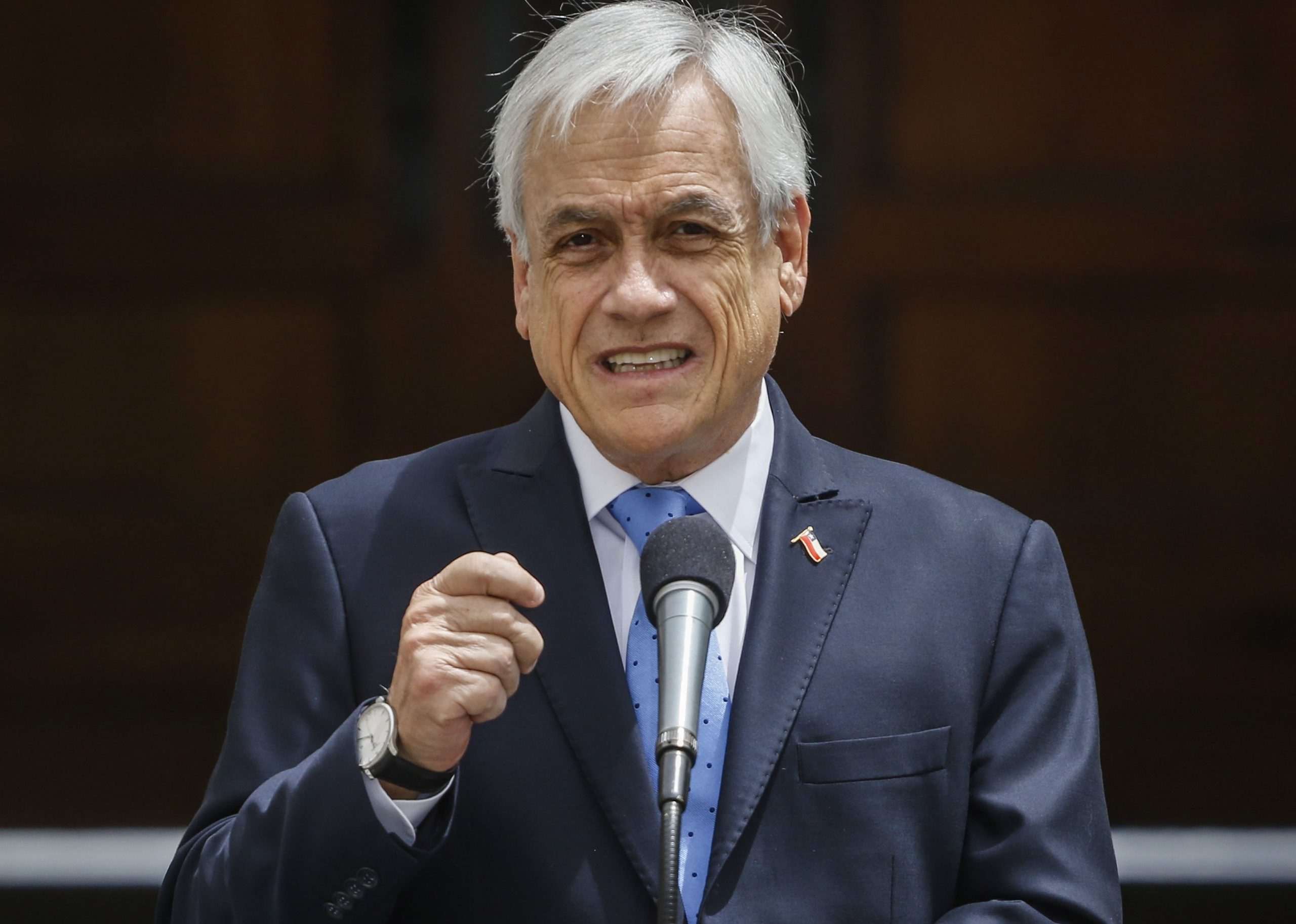 Presidente Piñera anuncia extensión de estado de catástrofe