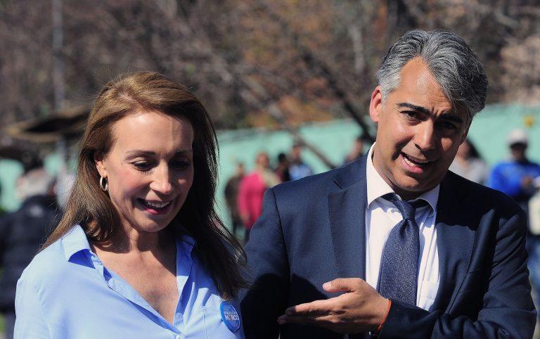 Karen Doggenweiler y Marco Enríquez-Ominami