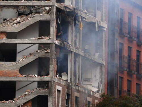 explosión en Madrid deja fuertes imágenes