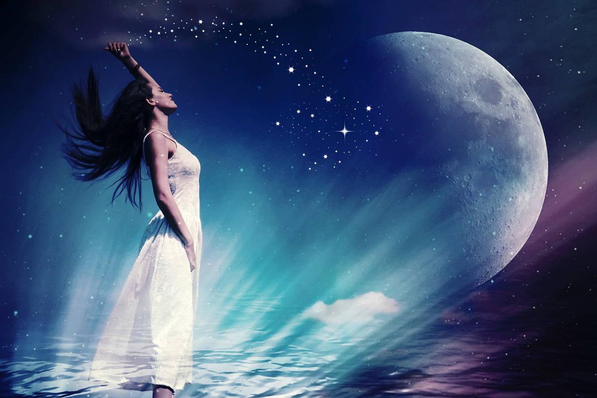 Luna y ecplises