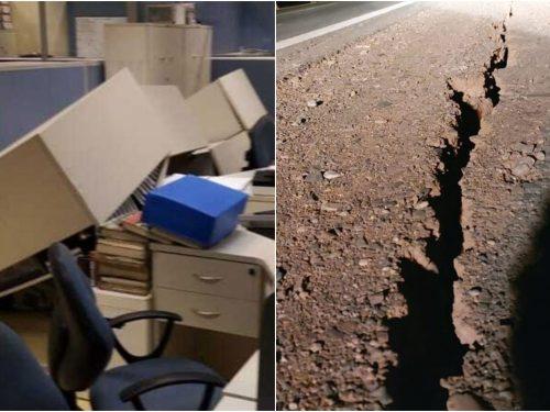 las impactantes imágenes del sismo de argentina