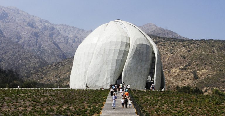 templo bahai de peñalolen