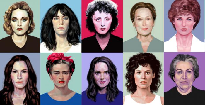 '100 Mujeres Mirando Al Frente'