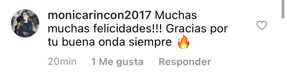 Comentario Mónica Rincón