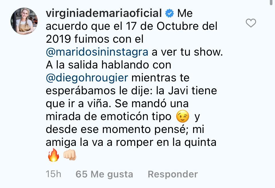 Comentario Virginia Demaría