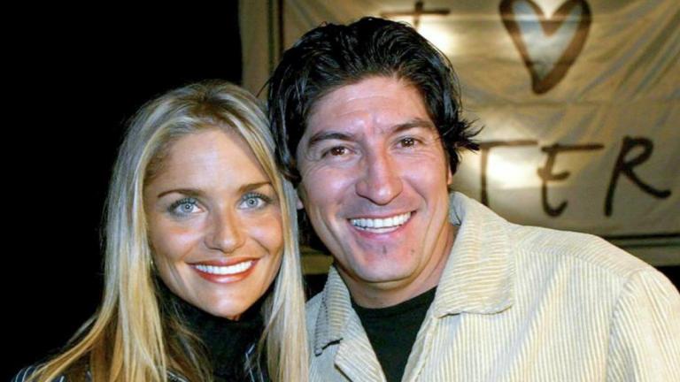 Zamorano y Kenita Larraín