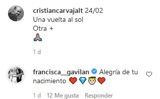 Comentario Francisca