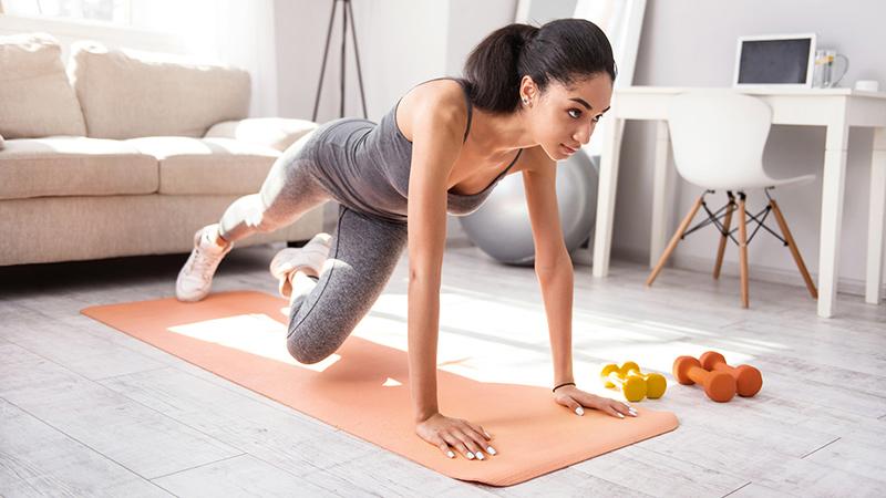 abrigarte despues de ejercicio