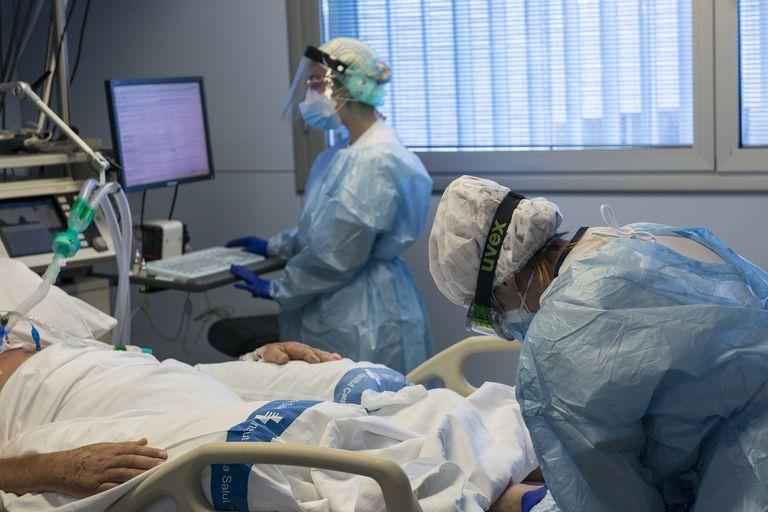 Persona Hospitalizada por coronavirus