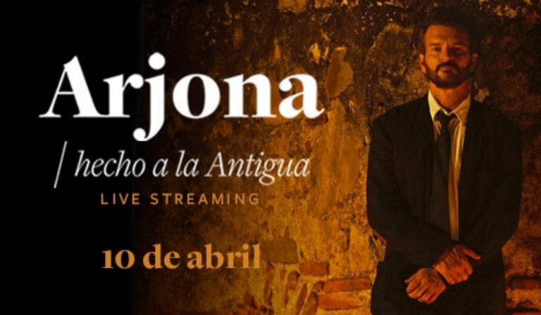 ¡Confirman telonero chileno para show online de Ricardo Arjona!