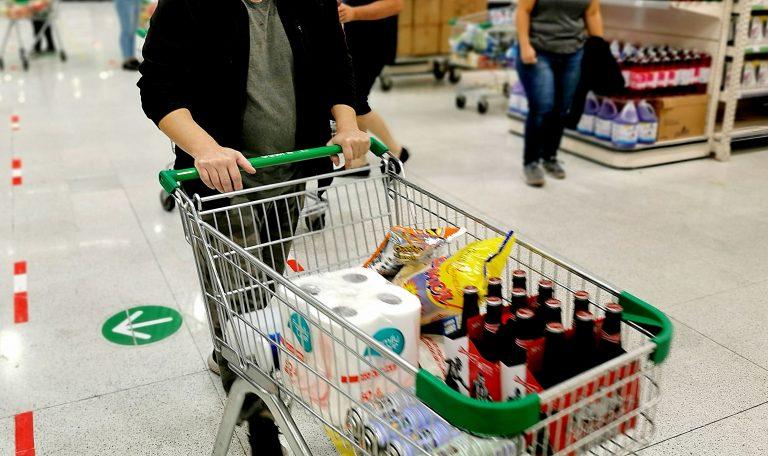 Supermercado por dentro