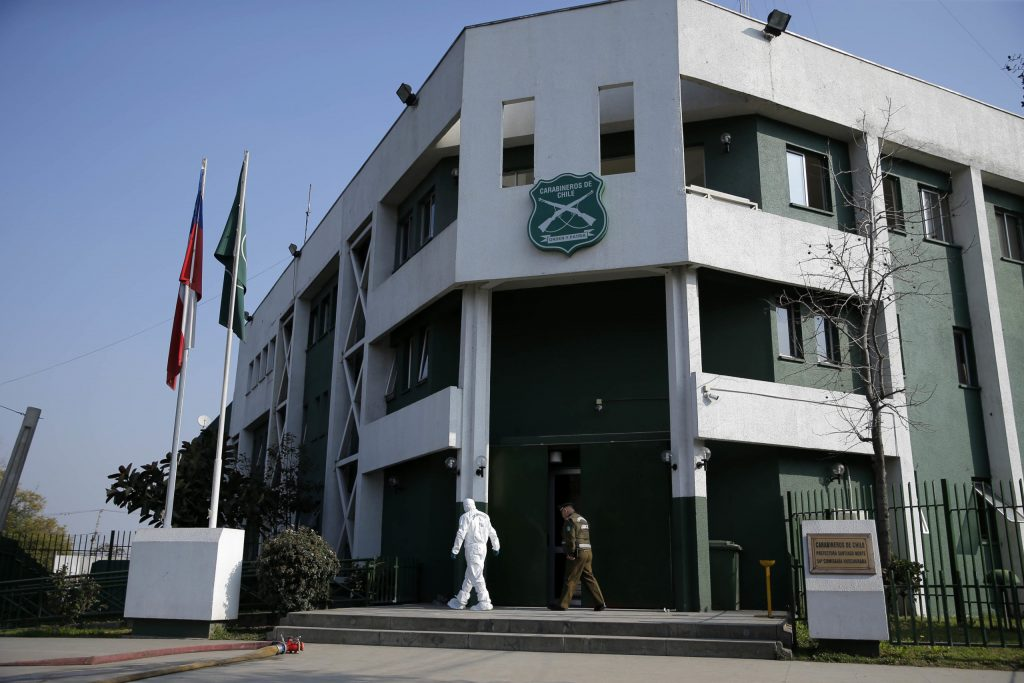 Atentado Explosivo En La 54 Comisaria De Huechuraba.