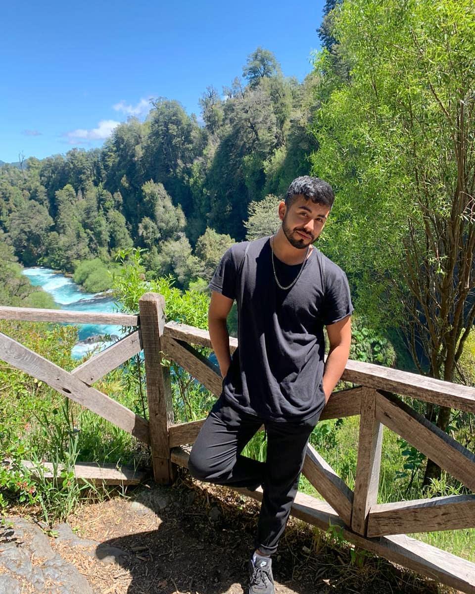 Hernan Arcil En El Sur De Chile