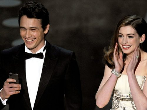 James Franco Anne Hathaway Oscar 2011